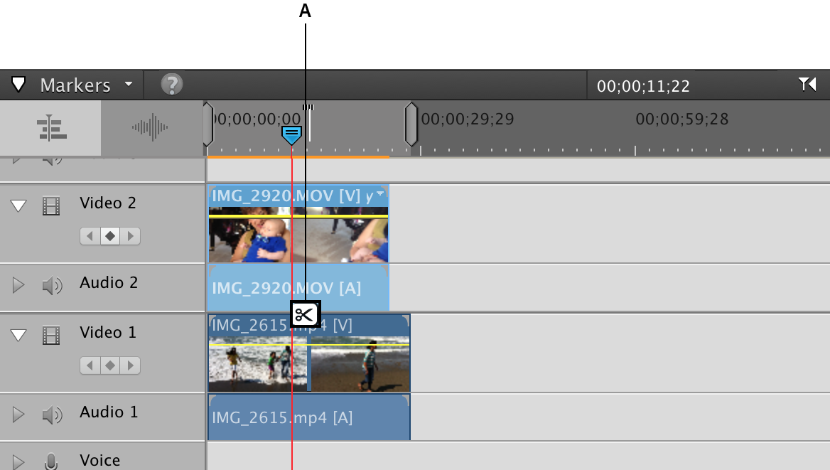 How to split clips with Adobe Premiere Elements