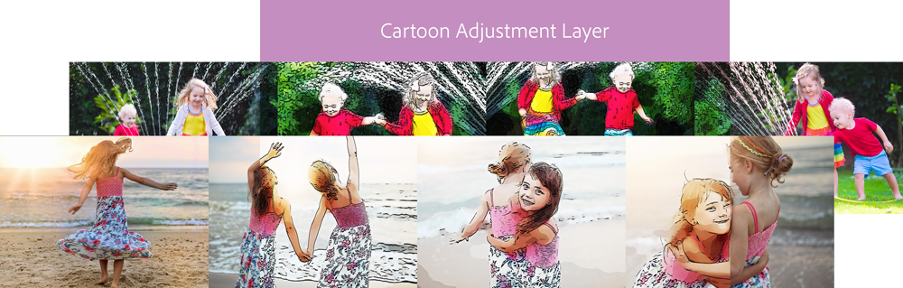 Adjustment layer Guided Edit