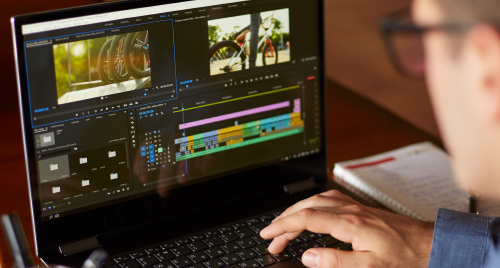 Explorar os painéis do Premiere Pro