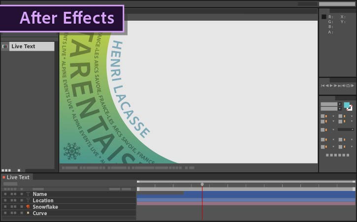 how to use live text templates from after effects in premiere pro