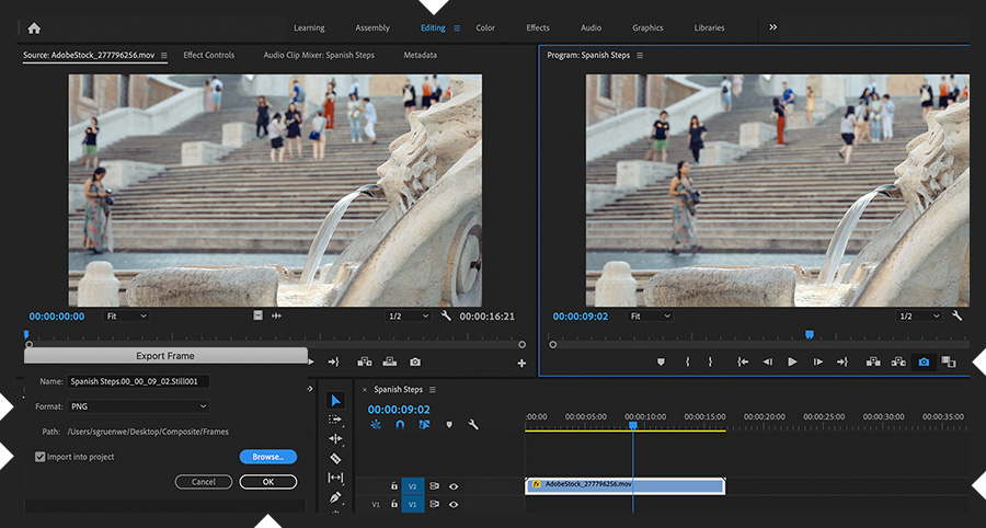 How to make a cinemagraph | Tutoriales de Adobe Premiere Pro
