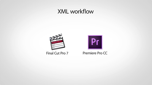 Migrating projects from Final Cut Pro to Premiere Pro CC