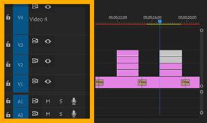 Select, delete, or ripple-delete clips | Adobe Premiere Pro
