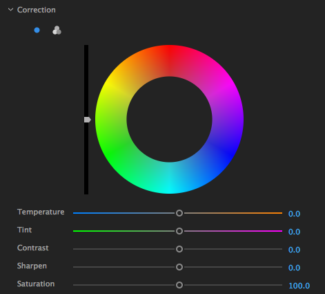 Using HSL Secondary controls in the Lumetri Color panel in