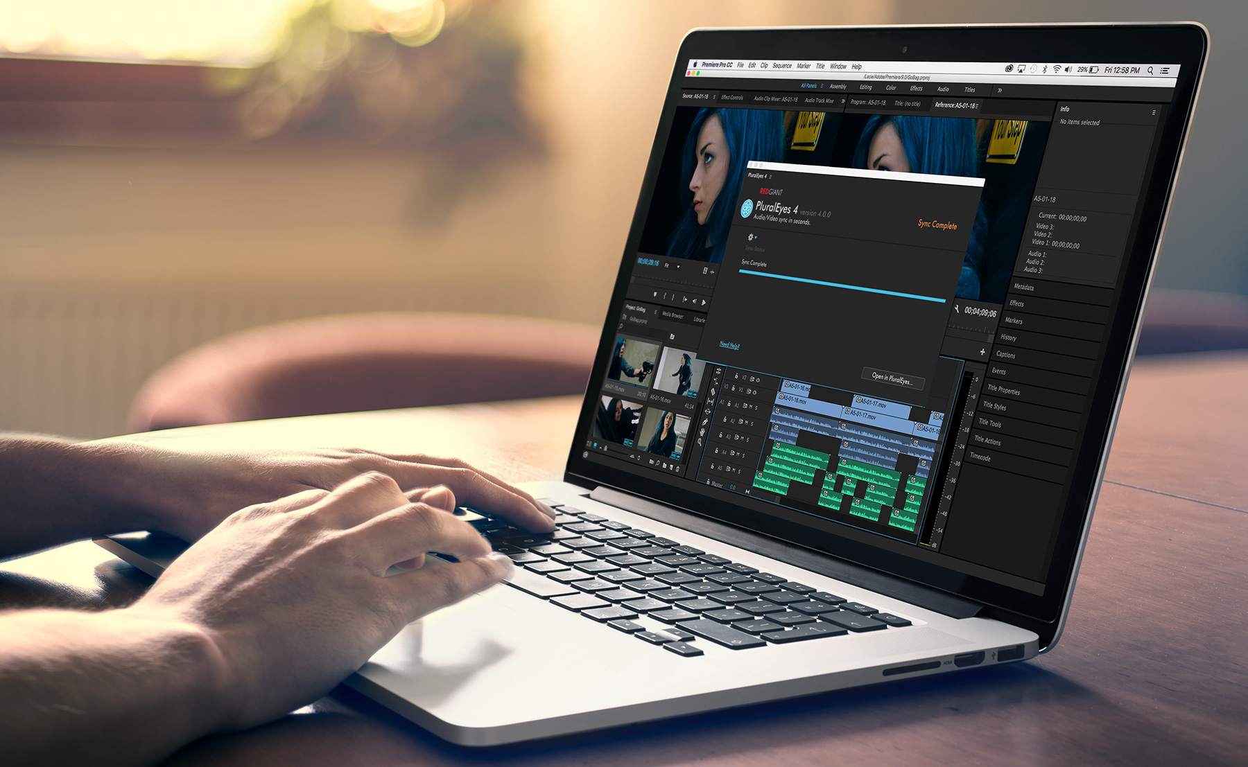 Red Giant offers powerful plugins and extensions for Premiere Pro and After Effects