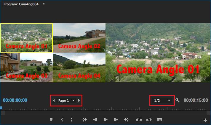 Create and edit a multi-camera sequence in Premiere Pro
