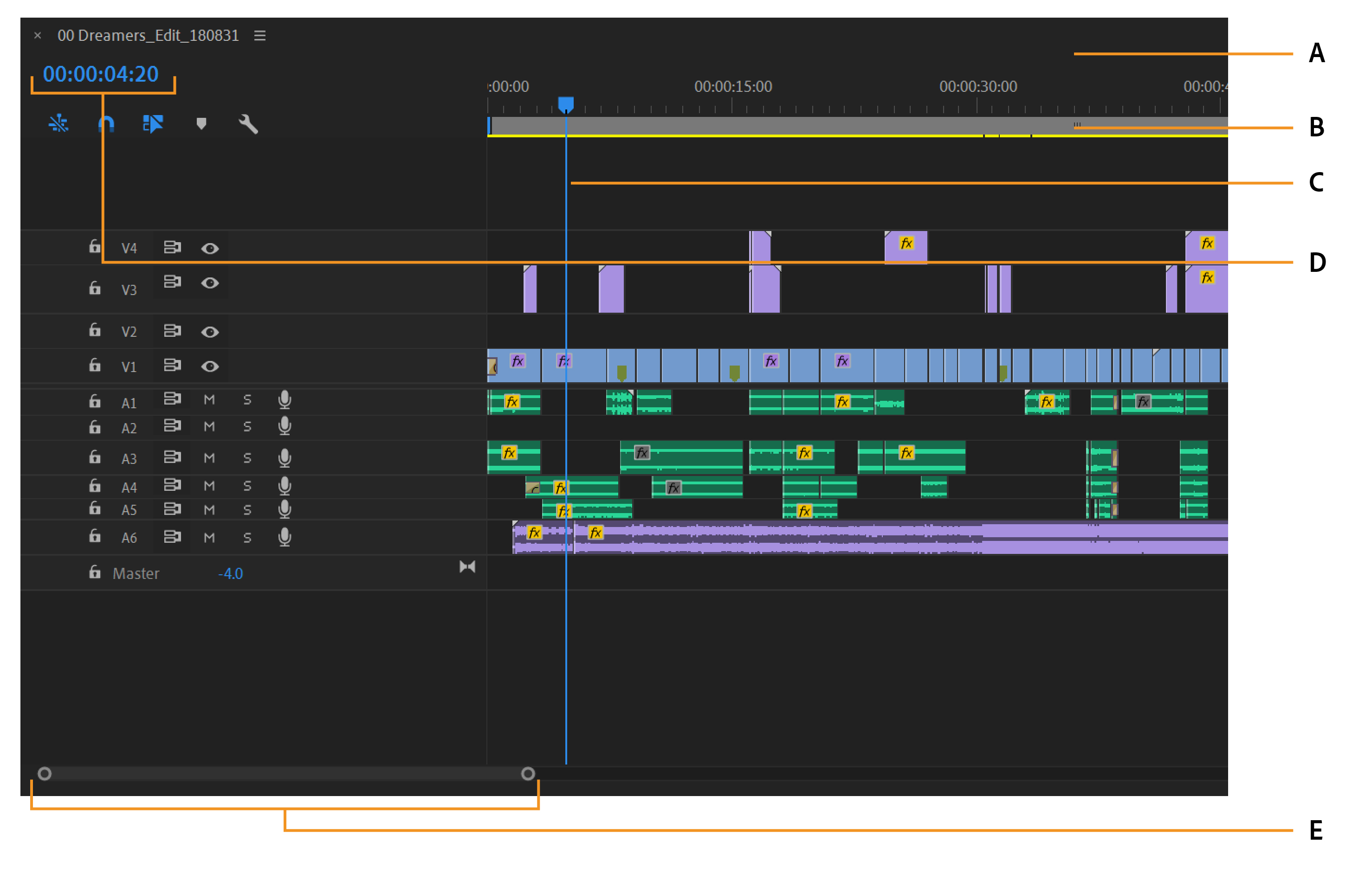 Create and change sequences in Premiere Pro