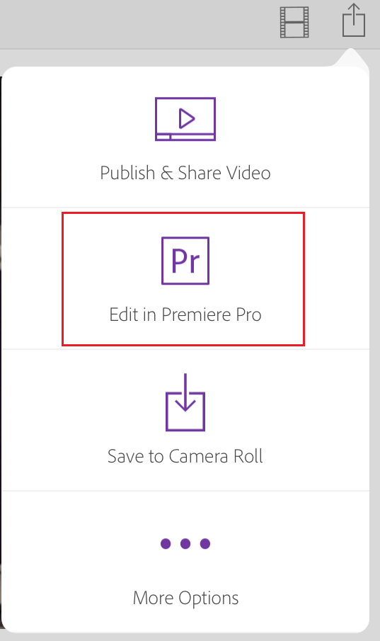 Edit Premiere Clip videos in Premiere Pro