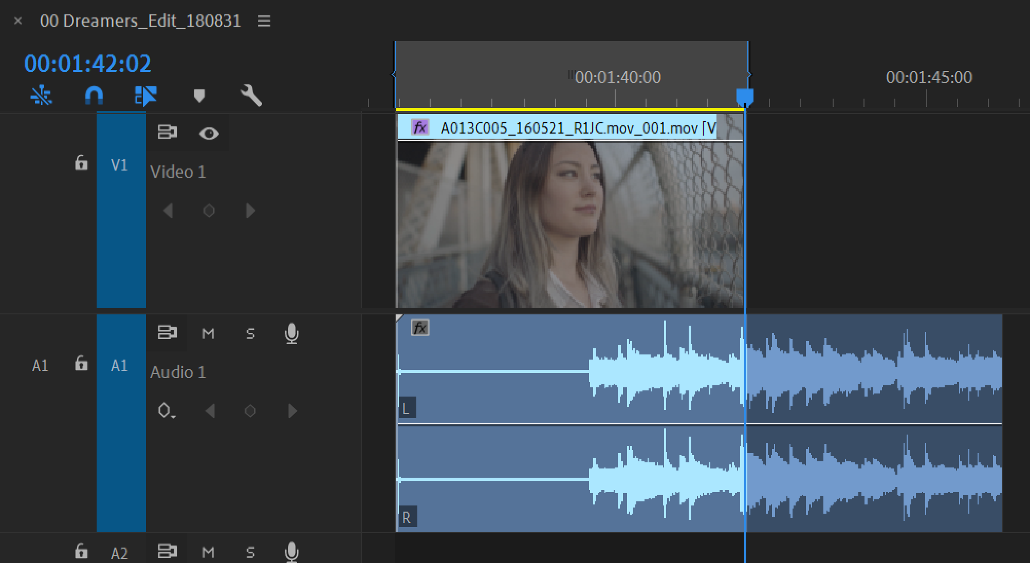 Edit audio in the Premiere Pro timeline