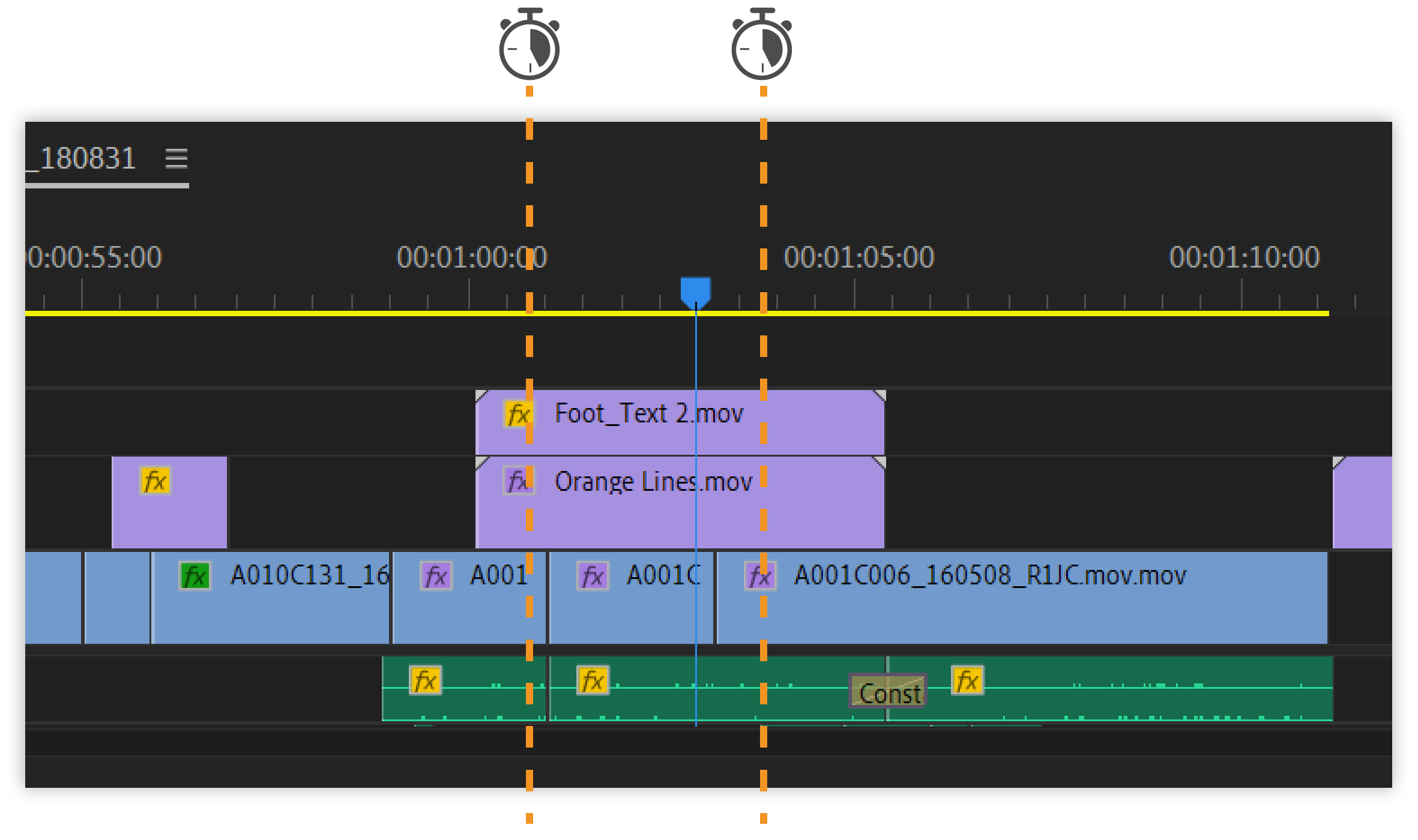 Playing and previewing assets in Premiere Pro