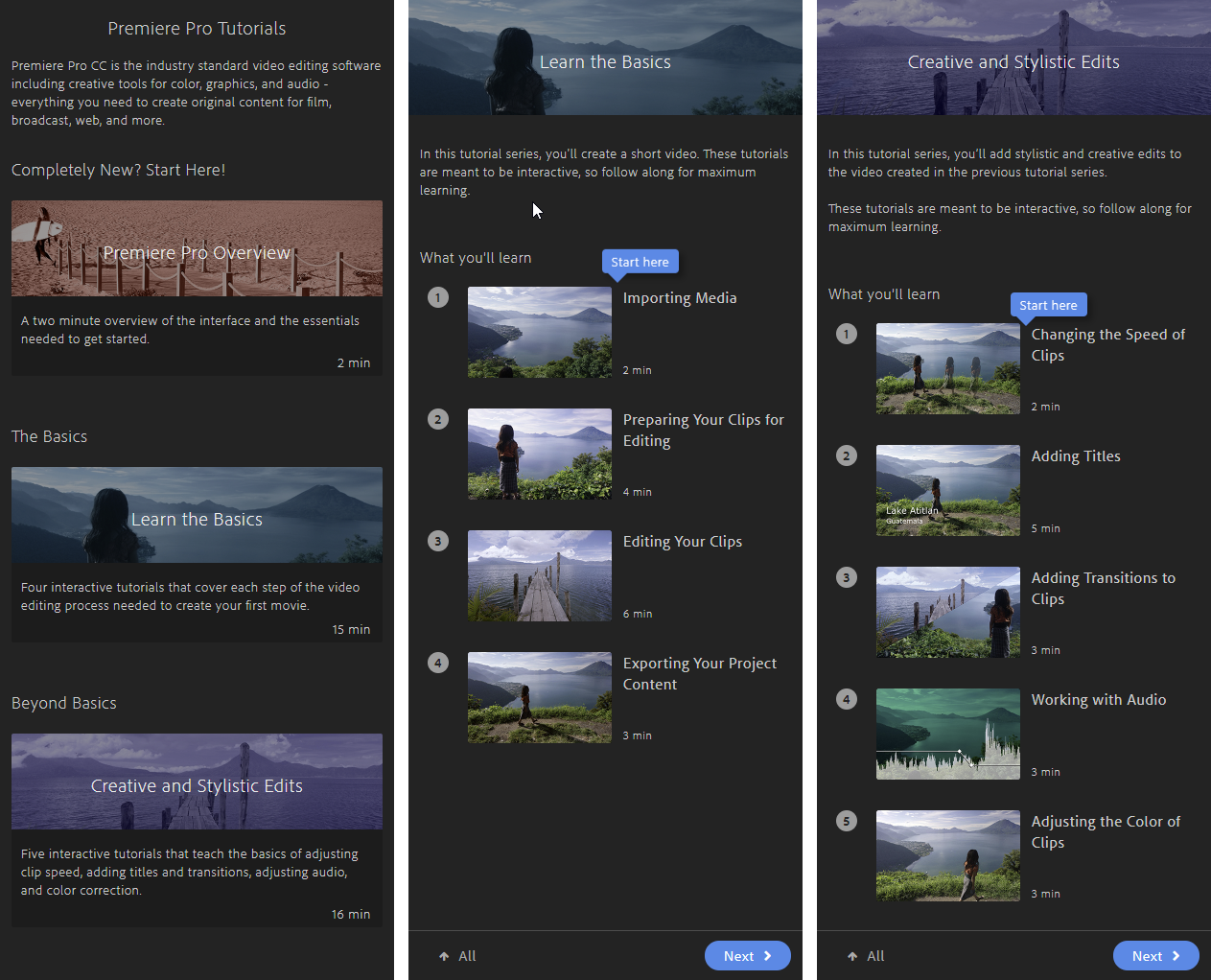 Use and customize workspaces in Premiere Pro