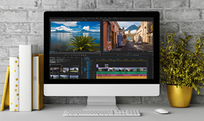 The Premiere Pro interface