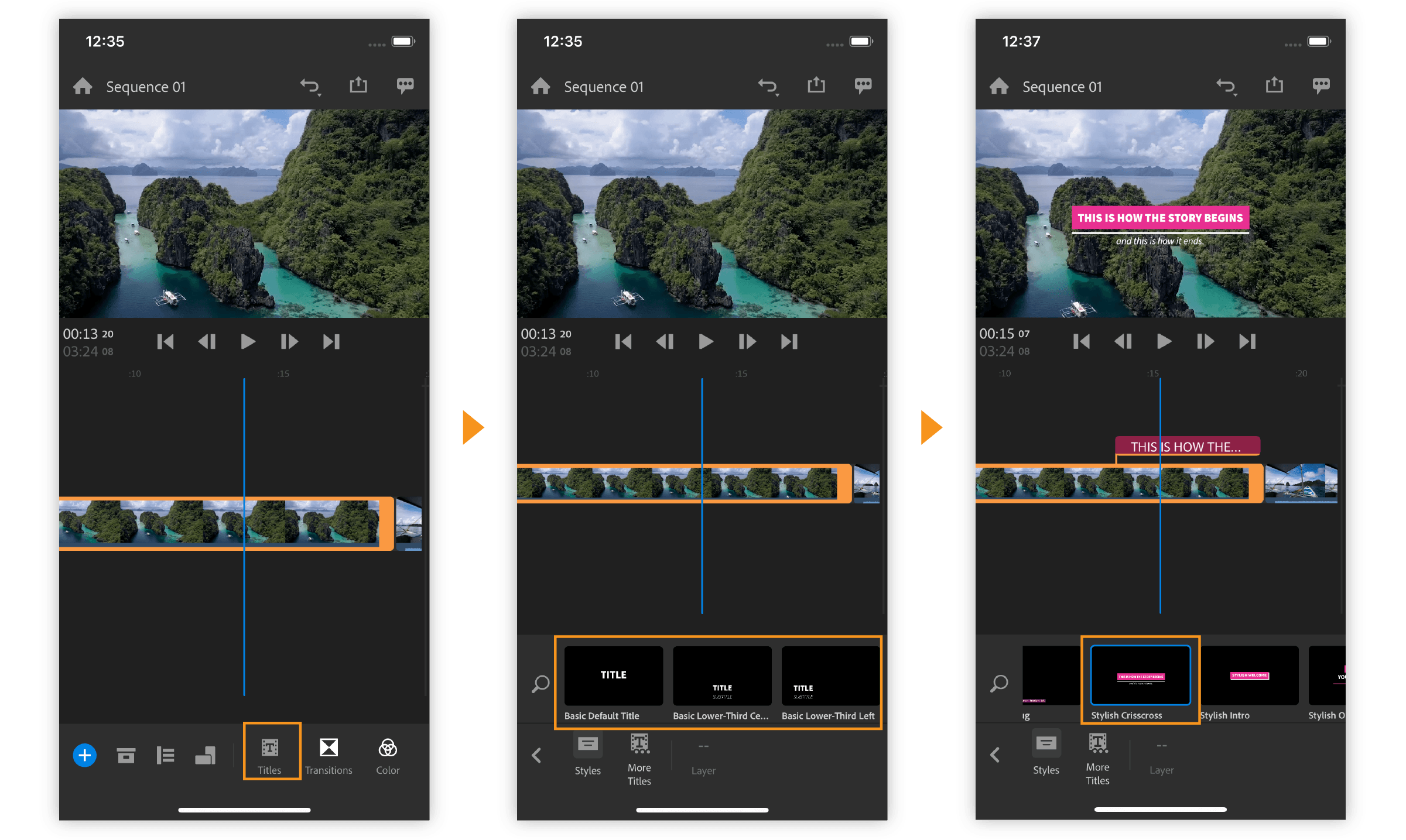 How to capture, edit, and share videos using Adobe Premiere Rush on