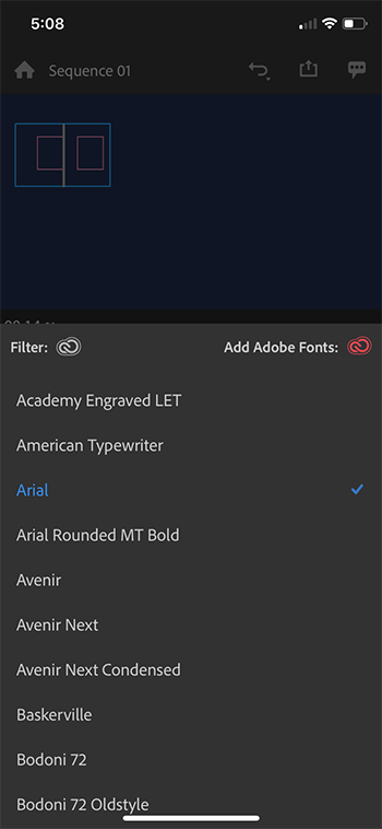 Changing the font to one that supports your language