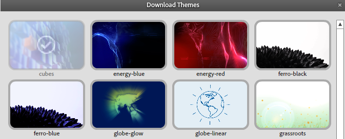 Download themes