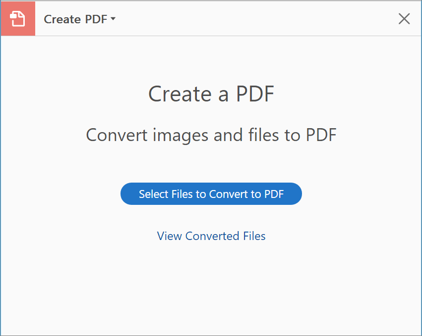 Create PDF from Tools