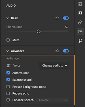 Edit Voice Clips