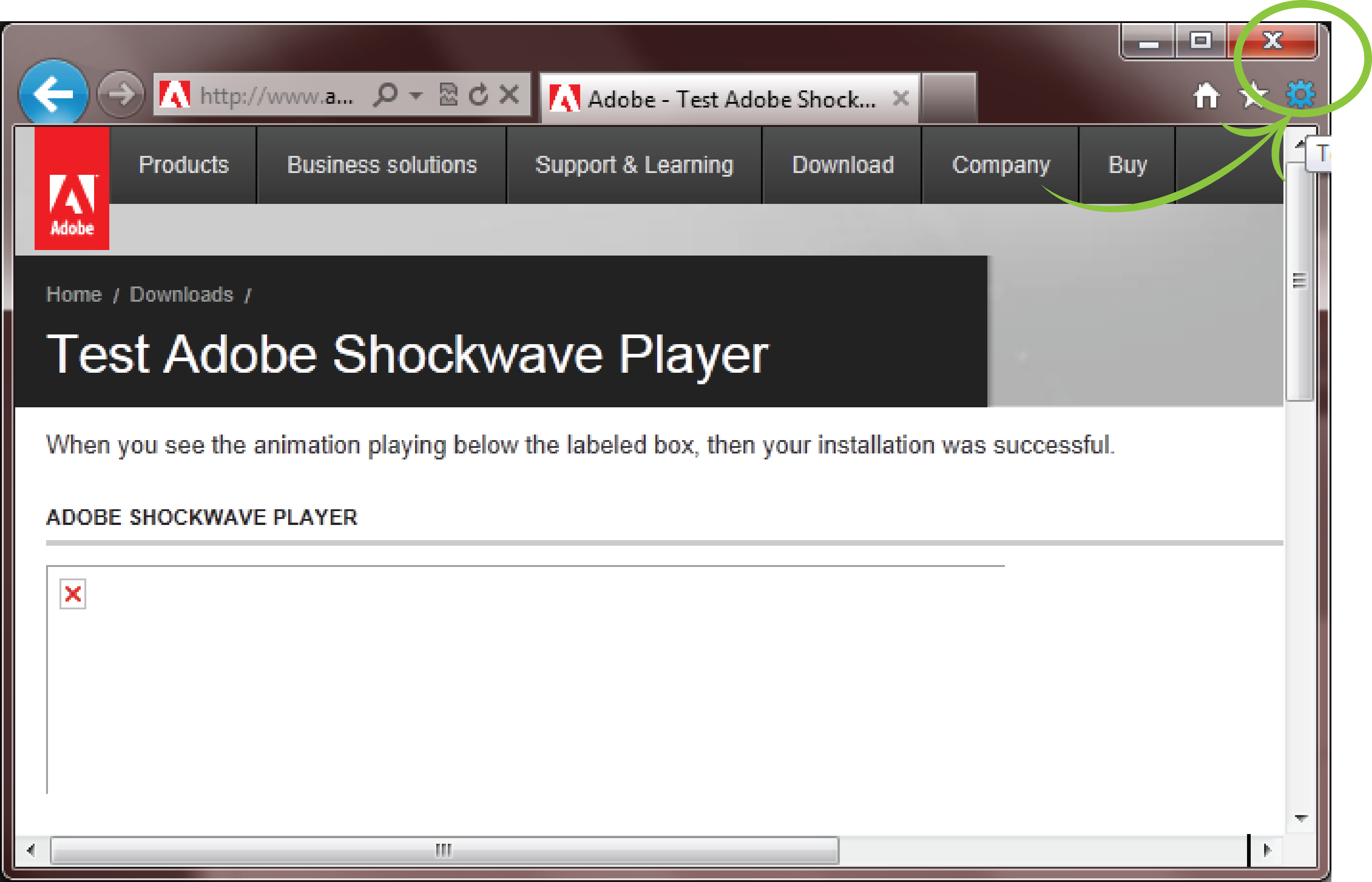 shockwave flash 8.5