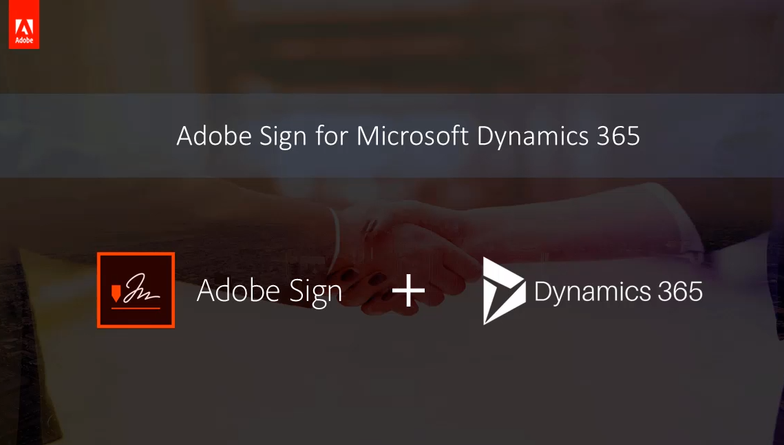 Vídeo de Adobe Sign para Dynamics