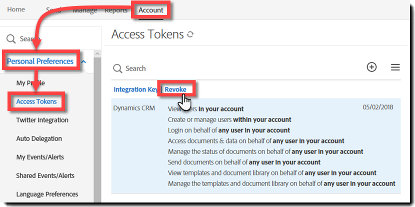 Adobe Sign for Microsoft Dynamics CRM installation Guide