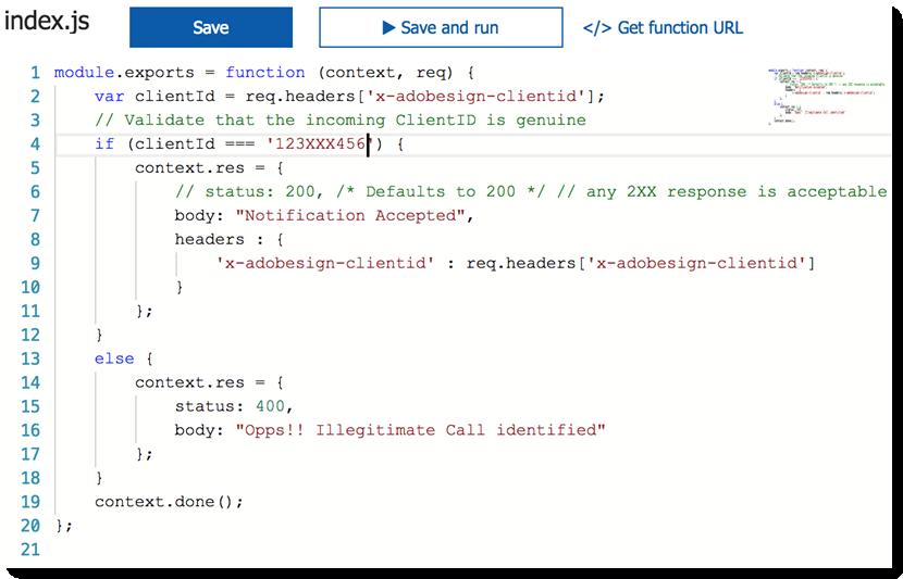 Classic Adobe Sign API: Webhooks