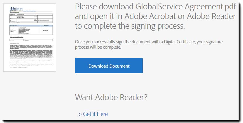 adobe pdf signature disappears