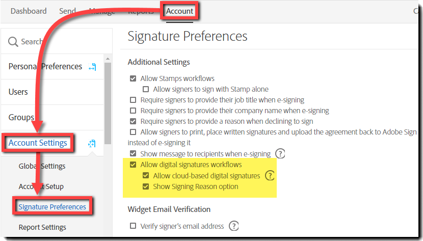 how to put signature in adobe reader