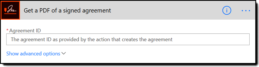 Get a PDF of a signed agreement - Rebranded