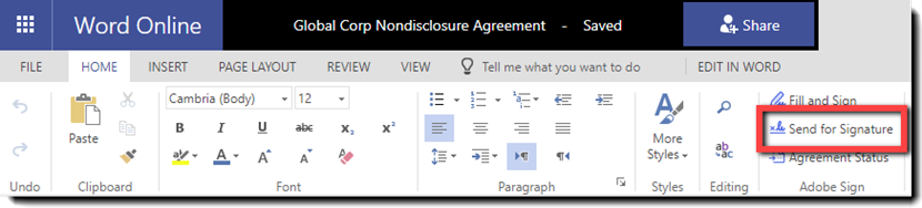 how to add new signature in adobe