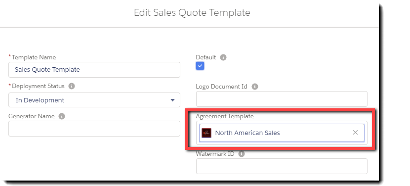 33_select_the_agreementtemplatetolinktothequotetemplate