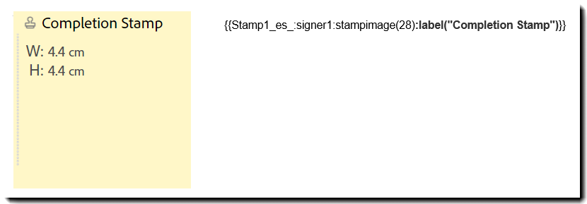 Stamp Text TAg Compare