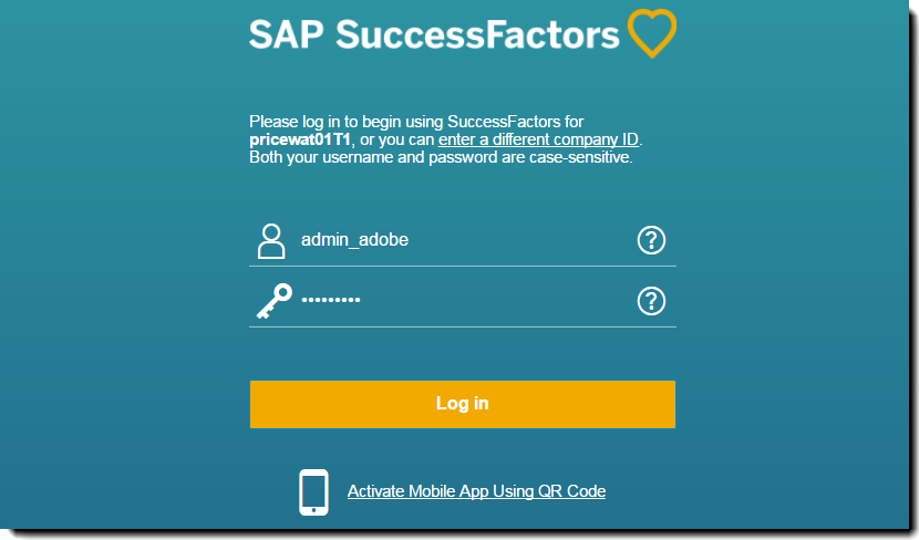 Adobe Sign for SAP SuccessFactors - Onboarding