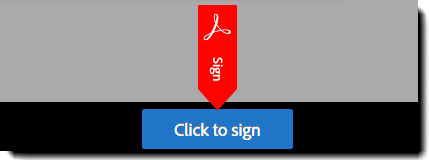 Click to sign button