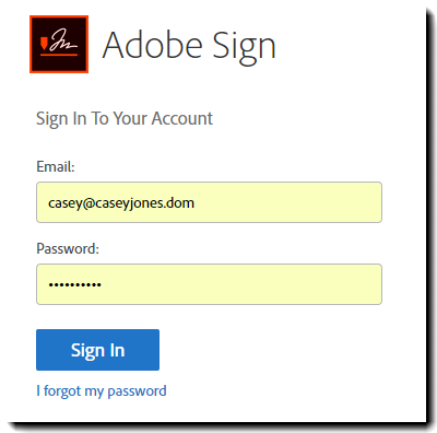 7. OWA Auth to AdobeSign - Rebranded