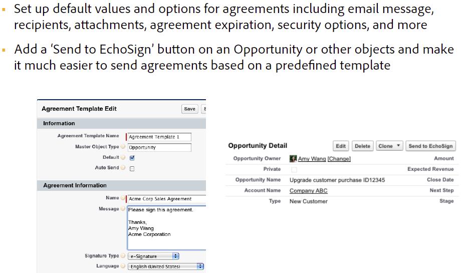 Adobe Sign für Salesforce-Versionshinweise