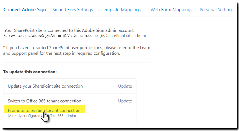 Adobe Sign for SharePoint Online - Installation Guide