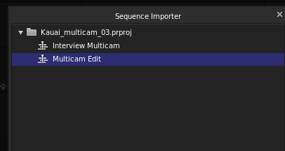 Sequence Importer