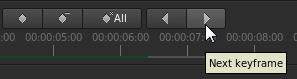 Next keyframe button