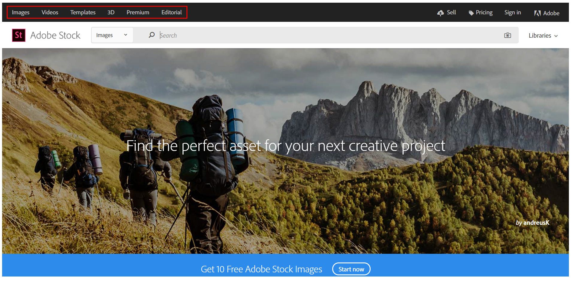 learn how to use the adobe stock website to explore and license