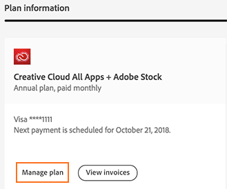 Cancel your Adobe Stock membership
