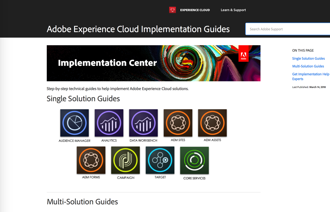 Experience Cloud Implementation Guides