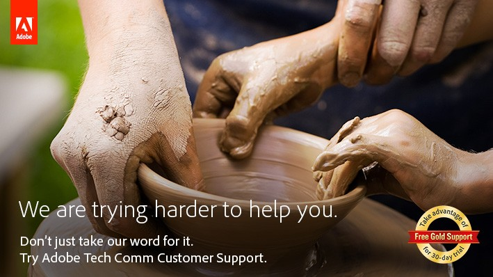 Learn about Adobe Technical Communication Customer Support