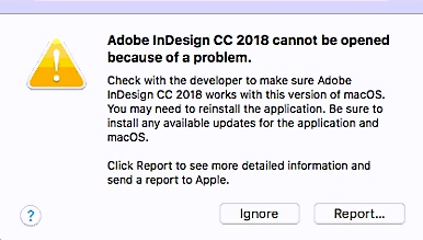 Adobe applications cannot be opened | macOS