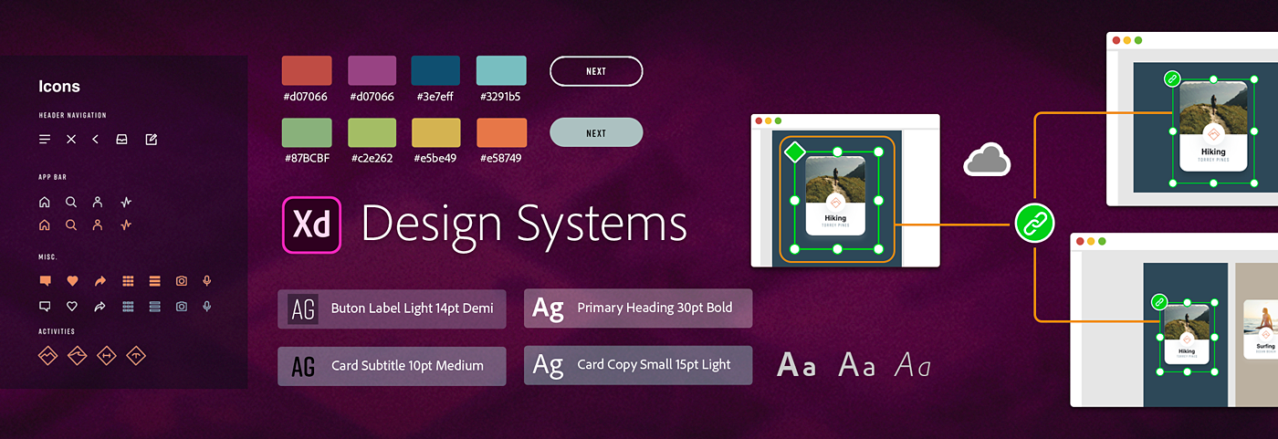 Design systems in XD