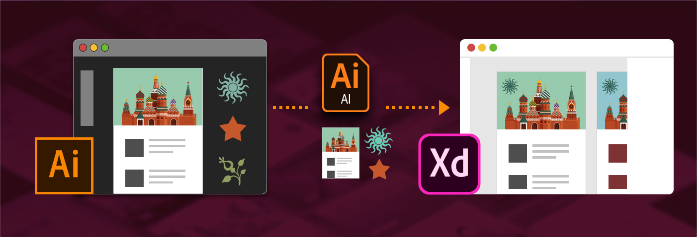 Bringing Illustrator assets into XD