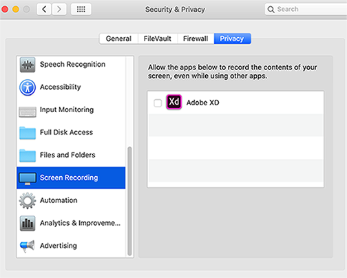 Enable Screen Recording On Macos Catalina 10 15 And Later