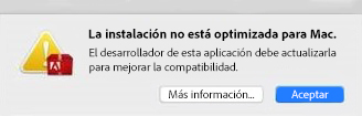 Advertencia de 32 bits relativa a macOS 10.13 High Sierra