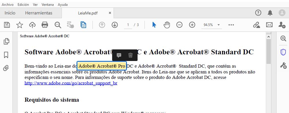 Uso De Las Herramientas De Anotacion Y Marcado De Dibujo Para Anadir Comentarios En Archivos Pdf En Adobe Acrobat Y Acrobat Reader