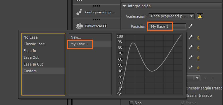 Creación de una animación de interpolación clásica en Animate CC