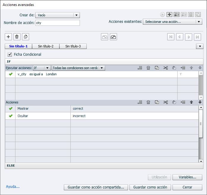 Definir propiedades de widgets con Adobe Captivate